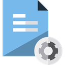 File, Extension, Files And Folders, document, Archive, Format, Dll SkyBlue icon