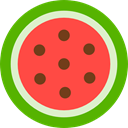 Food And Restaurant, Healthy Food, vegetarian, vegan, food, diet, organic, Fruit, watermelon Tomato icon