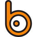 social media, Logos, social network, Badoo, Logo, Brands And Logotypes, logotype Black icon