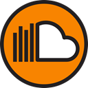 Logo, social media, Logos, Brands And Logotypes, Soundcloud, social network, logotype DarkOrange icon