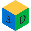 shapes, Shapes And Symbols, Geometrical, 3d, Squares, cube SandyBrown icon