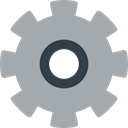 Construction And Tools, Tools And Utensils, cogwheel, configuration, settings, Gear DarkGray icon