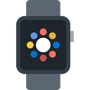smartwatch, wristwatch, electronics, technology, Coding, watch DarkSlateGray icon