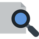 Edit Tools, Loupe, search, magnifying glass, detective, zoom, Tools And Utensils Silver icon