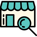 store, Shop, Business, food, Commerce And Shopping, commerce MediumTurquoise icon