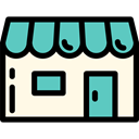 Business, store, food, commerce, Shop, Commerce And Shopping OldLace icon