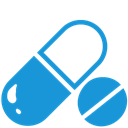 Pill, Blue DodgerBlue icon