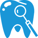 Blue, tooth DodgerBlue icon
