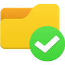 Access, Folder Gold icon