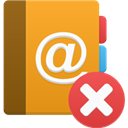 delete, Addressbook Icon