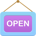 open LightSkyBlue icon