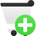 shopping, Cart, Add LimeGreen icon