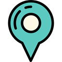 map pointer, pin, placeholder, interface, Map Location, Map Point, Maps And Location, signs MediumTurquoise icon