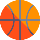 Basketball, team, Sport Team, Sports And Competition, sports, equipment DarkOrange icon