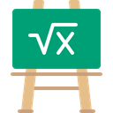 school, Eraser, Blackboard, education, Class DarkCyan icon