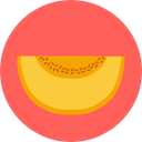 organic, Healthy Food, Fruit, vegan, Food And Restaurant, melon, vegetarian, diet, food Icon