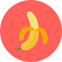 Food And Restaurant, diet, Healthy Food, Banana, Fruit, vegan, organic, food, vegetarian Tomato icon