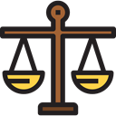 Balance, judge, zodiac, Business And Finance, law, libra, justice, Tools And Utensils, Balanced Black icon