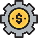Business, manager, Dollar Symbol, coin, Business And Finance, networking, Money, management Silver icon