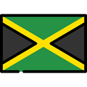 world, Jamaica, Country, flag, Nation, flags SeaGreen icon
