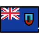 Country, world, Nation, flag, flags, Montserrat MidnightBlue icon