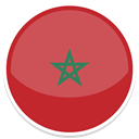 morocco IndianRed icon