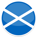 Scotland SteelBlue icon
