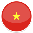 Vietnam IndianRed icon