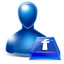 Avatar, Facebook Black icon