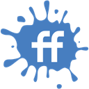 media, set, blot, Social, Fiendfeed SteelBlue icon