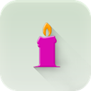 Candle Gainsboro icon