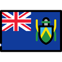 Nation, Pitcairn Islands, world, flags, flag, Country MidnightBlue icon
