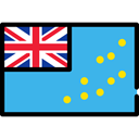 flags, world, Nation, flag, Country, Tuvalu MediumTurquoise icon