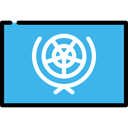 flags, united nations, world, Country, Nation, flag MediumTurquoise icon
