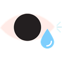 tear, Healthcare And Medical, Conjuctivitis, Eye, ill, drop Black icon