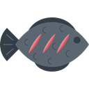 Animal, fishes, food, meat, Meats, fish, Foods, Supermarket DimGray icon