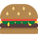 Fast food, Unhealthy, diet, food, hamburguer Peru icon