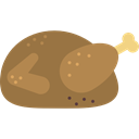 turkey, chicken, food, Roast Chicken, chicken leg, Turkey Leg Sienna icon