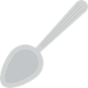 food, Spoon Outline, Tools And Utensils, spoon, Food And Restaurant, Spoon Handle, Teaspoon, Spoon With Handle Icon