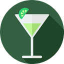 Alcoholic Drinks, leisure, drinking, Alcohol, straw, party, food, cocktail, Food And Restaurant DarkSlateGray icon