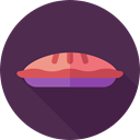 sweet, Bakery, Dessert, pie, Food And Restaurant, food DarkSlateGray icon