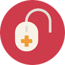 Medical Icons, medical, machine, rate, Beats, tool, Medical Machine, pulse IndianRed icon