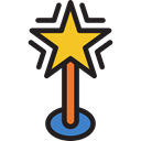 shapes, signs, Favorite, Tools And Utensils, interface, Favourite, rate, star Black icon