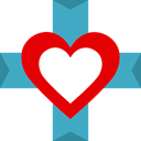 Heart, Healthcare And Medical, hospital, Cardiogram, medical, Add, Health Care MediumTurquoise icon