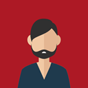 Man, user, Business, Boy, Avatar, people, profile Firebrick icon