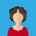 user, people, woman, Girl, Avatar, Business, profile DodgerBlue icon