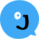 social media, symbol, social network, Jux, Social, Logo, Social Normal, logotype DodgerBlue icon