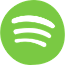 social media, Streaming, Squares, Spotify, Brand, music player, Logo YellowGreen icon