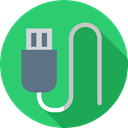 port, Usb Cable, Music And Multimedia, Usb, technology, Connection, Cable MediumSeaGreen icon