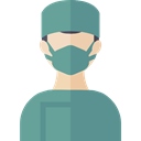 job, Occupation, Surgeon, Avatar, doctor, medical, people, profession, Health Care CadetBlue icon